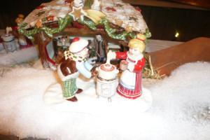 Villeroy and Boch, dekoracje świąteczne,  salon porcelany  84