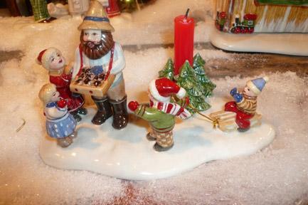 Villeroy and Boch, dekoracje świąteczne, salon porcelany 85