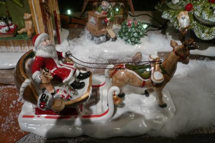 Villeroy and Boch, dekoracje świąteczne, salon porcelany 86