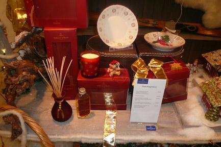 Villeroy and Boch, dekoracje świąteczne, salon porcelany 87