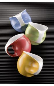 Szene COLANI COLOURS Kaffeebecher, salon porcelany