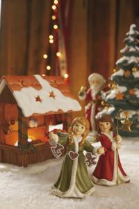 Dekoracje świąteczne, salon porcelany 2
