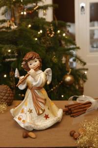Dekoracje świąteczne, salon porcelany 3