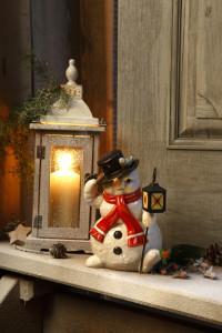Dekoracje świąteczne, salon porcelany 6