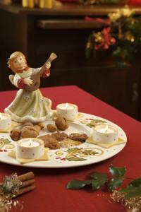 Dekoracje świąteczne, salon porcelany 8