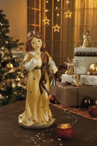 Dekoracje świąteczne, salon porcelany 9