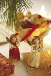 Dekoracje świąteczne, salon porcelany 10