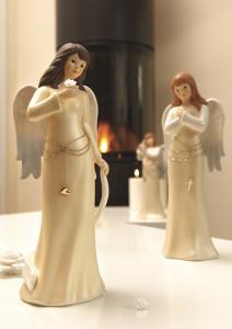 Dekoracje świąteczne, salon porcelany 12