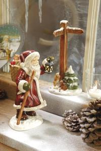 Dekoracje świąteczne, salon porcelany 16