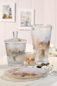Dekoracje świąteczne, salon porcelany 19