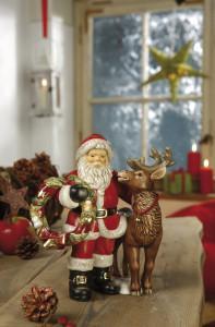 Dekoracje świąteczne, salon porcelany 20