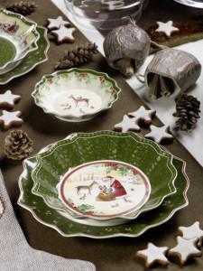 Dekoracje świąteczne, salon porcelany 21