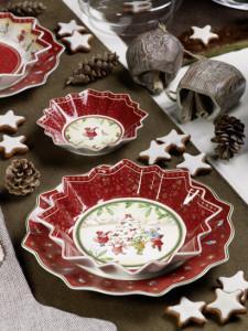 Dekoracje świąteczne, salon porcelany 22