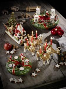 Dekoracje świąteczne, salon porcelany 24