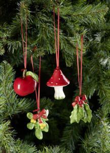 Dekoracje świąteczne, salon porcelany 26