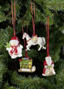 Dekoracje świąteczne, salon porcelany 27