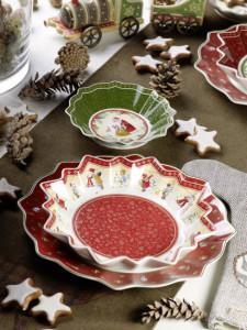 Dekoracje świąteczne, salon porcelany 29