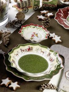 Dekoracje świąteczne, salon porcelany 30