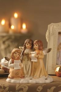 Dekoracje świąteczne, salon porcelany 31