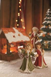 Dekoracje świąteczne, salon porcelany 32