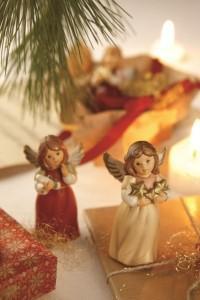 Dekoracje świąteczne, salon porcelany 34