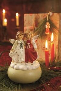 Dekoracje świąteczne, salon porcelany 36
