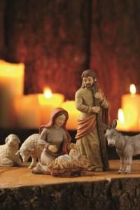 Dekoracje świąteczne, salon porcelany 38