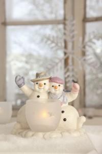 Dekoracje świąteczne, salon porcelany 44