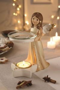 Dekoracje świąteczne, salon porcelany 46