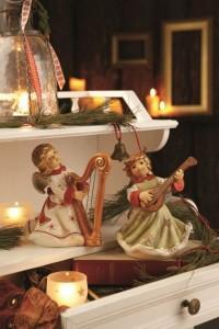 Dekoracje świąteczne, salon porcelany 48