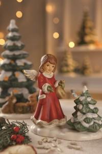 Dekoracje świąteczne, salon porcelany 50