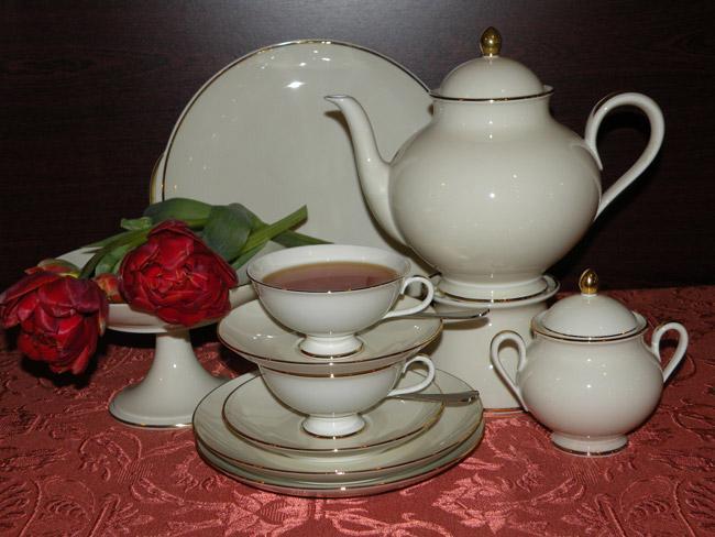Fürstenberg, salon porcelany