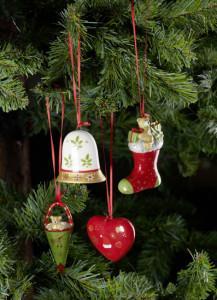 Dekoracje świąteczne, salon porcelany 25
